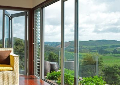 Views and ventilation can be enjoyed in this waiheke home