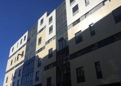 One Wharf Apartments using a Wintergarden Application