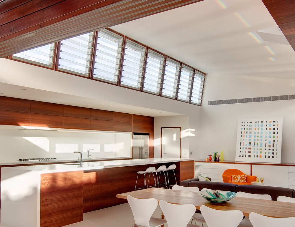 Breezway Powerlouvres allow hot air to escape