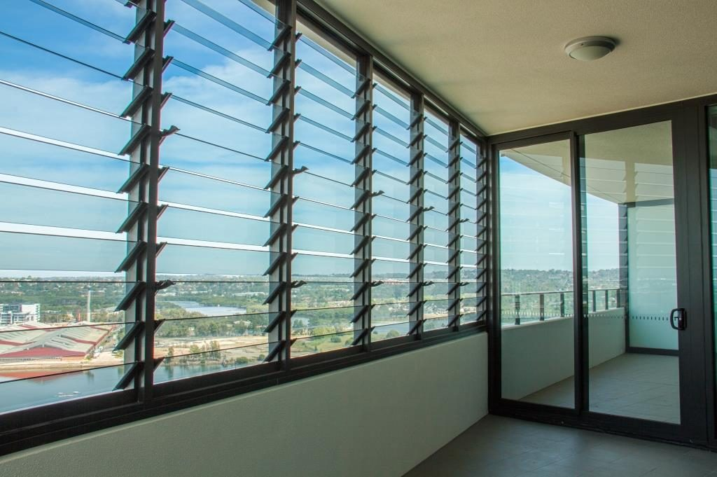 Breezway Louvres offer a sound barrier to internal living rooms