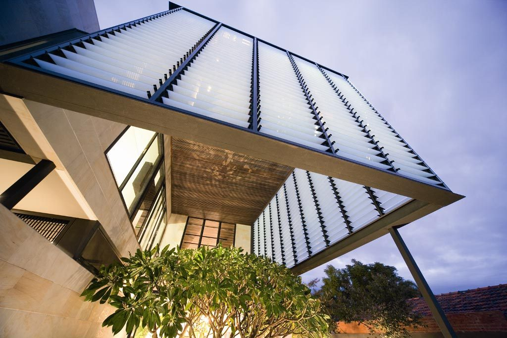 Breezway Louvres offer protection from the elements
