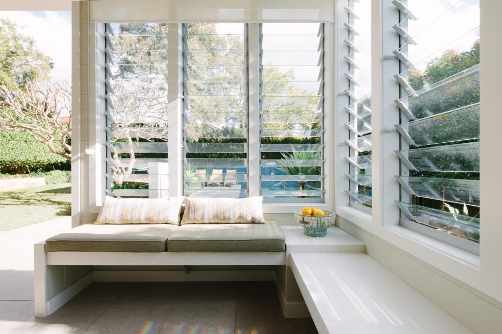 Sun Room with Breezway Louvres
