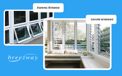 Awnings vs Louvre Windows: What's the Difference?