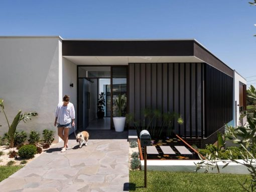 Elegant new home showcases holistic spaces using Breezway Louvres
