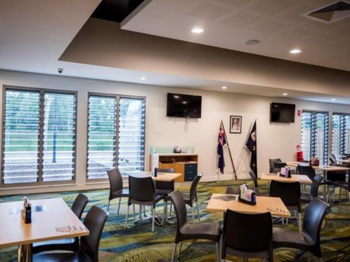 Excellent use of Ventilation and Acoustic Insulation in the Thuringowa RSL