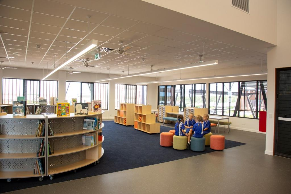 Breezway Louvres bring natural light and fresh ventilation into classrooms to stimulate minds