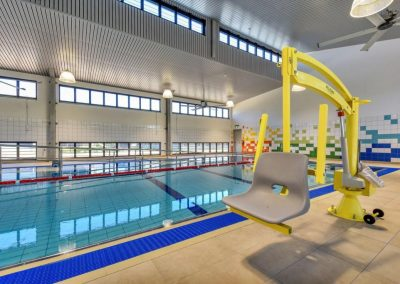 Naturally Ventilated Hydrotherapy Pool Facility