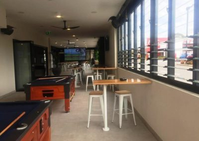 Sports Bar Maximises Natural Light and Fresh Air