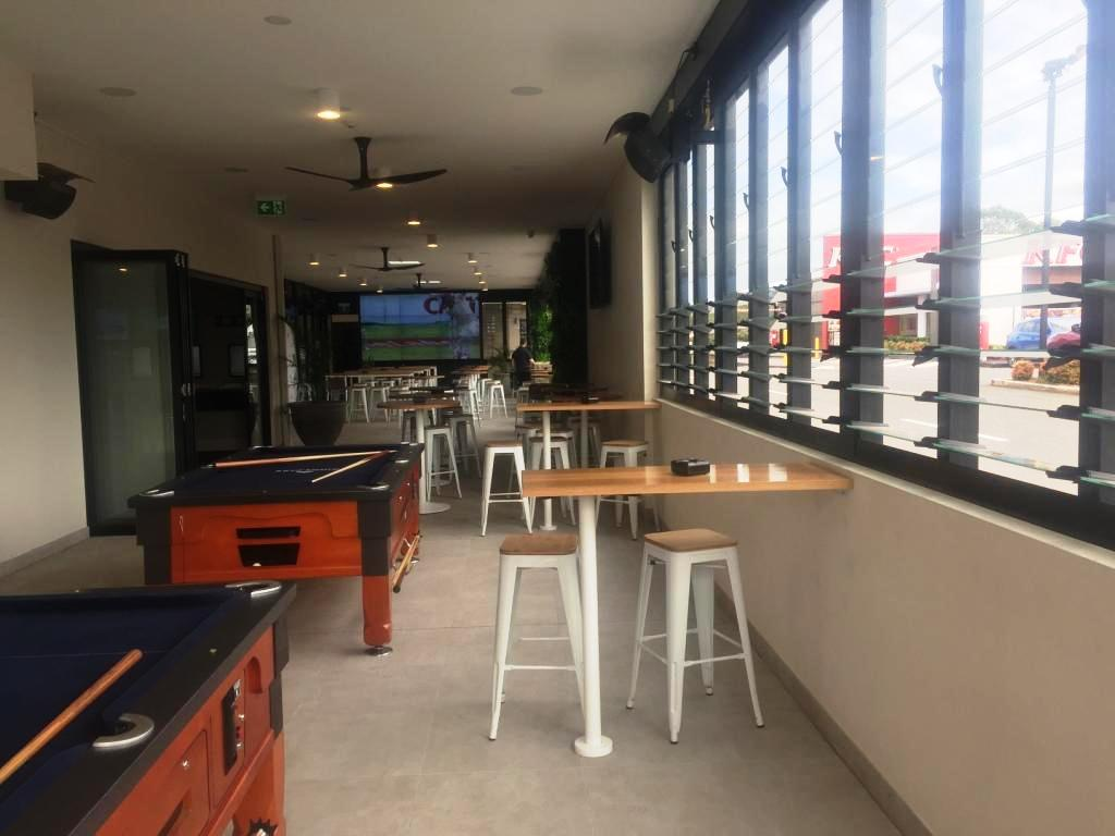 The Kings Park Sports Bar makes use of Breezway Louvres for natural ventilation