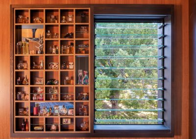 Breezway Louvre Windows can be designed into feature walls