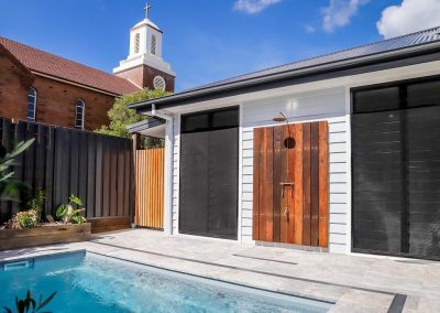 Breezway Louvres can be easily screened to help keep your home protected