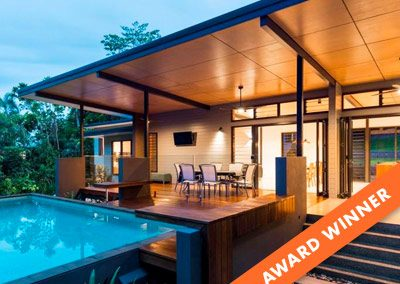 House of the Year filled with Breezway Louvre Windows