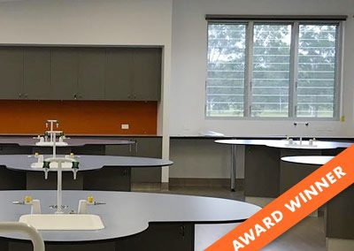 Casino Christian School, New Science Classrooms & Laboratory with Breezway Louvres