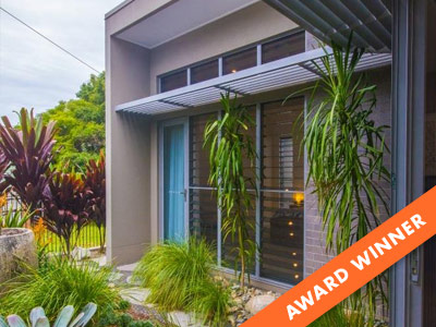 Breezway Louvres help win Best Contemporary Residential Design for 2021