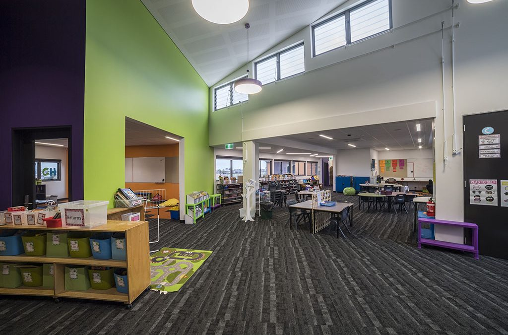 St Thomas the Apostle Primary School naturally ventilated with Breezway